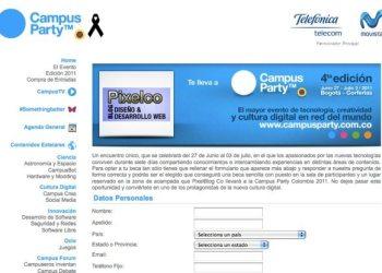 Pixelco te lleva al Campus Party Bogota Colombia