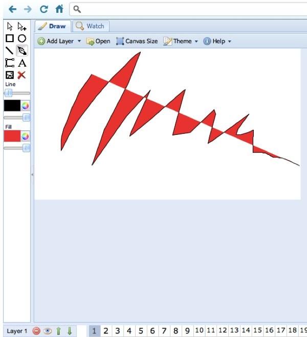 Ajax animator - aplicación para crear animaciones
