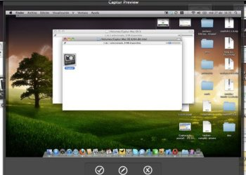 Captur interfaz - Aplicación para hacer capturas de pantalla