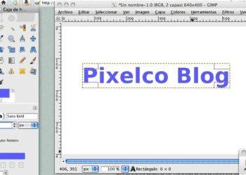 GIMP editor de fotos versión Mac