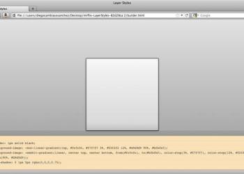 Layers Styles - código CSS