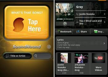 SoundHound aplicaciones reconocer canciones apps