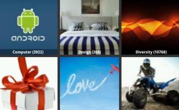 HD Wallpapers para Android, cientos de fondos para Android novedades apps