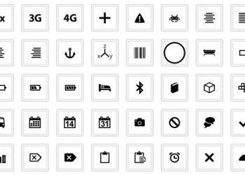 WP7 Icons - colección de iconos gratuita