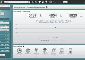 SocialBro aplicación para gestionar Twitter