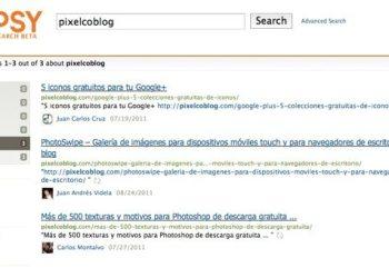 Topsy ahora busca en Google Plus