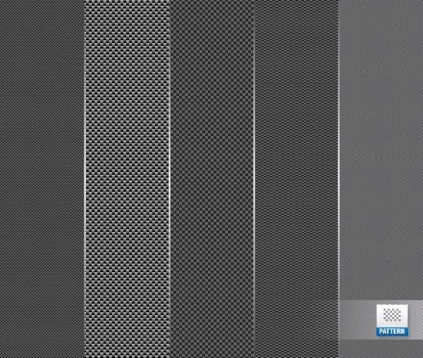 Carbon fibre patterns