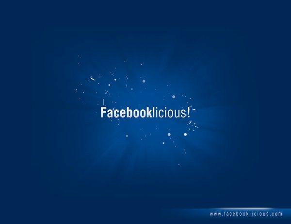 Facebooklicious wallpaper Facebook