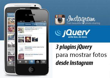Plugins jQuery para mostrar fotos de Instagram