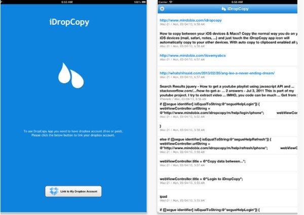 iDropCopy para iOS
