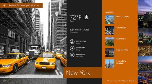 Windows 8.1 - Búsquedas