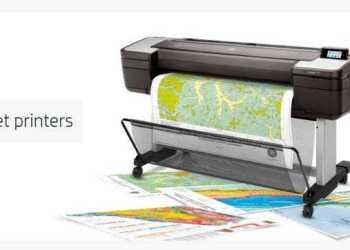 HP T1700 DesignJet -la impresora de gran formato para mapas GIS con seguridad avanzada