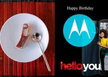 Happy Birthday Motorola