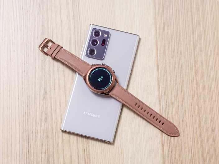 Galaxy Note S20 Ultra y Glaxy Watch 3