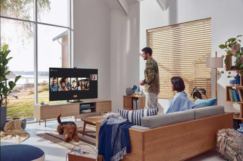 Samsung Neo QLED para hacer videollamadas