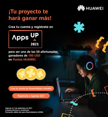 Huawei Apps Up 2021