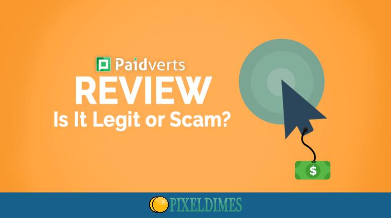 PaidVerts review 2018, Paidverts scam, Paidverts PTC site