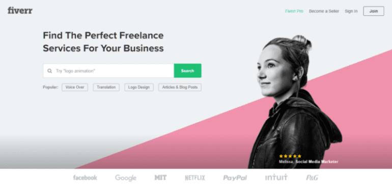 Freelance on fiverr to earn $500 in a week