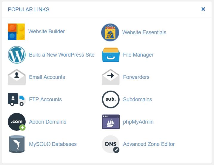 Build a new wordpresss site