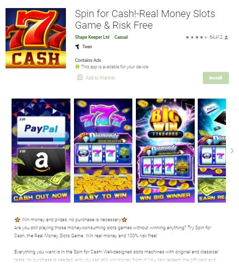 Spin For Cash Review