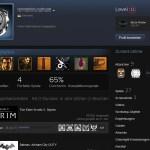 Spielerprofil auf Steam mit angezeigten Achievements