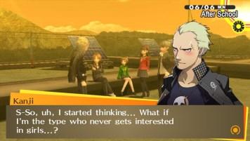 """In """"Persona 4: Golden"""" wird über weite Strecken das Coming Out eines Nebencharakters thematisiert."""