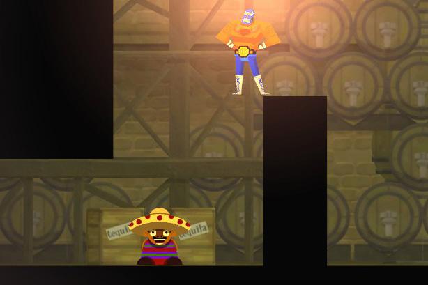 Der junge Mann im Tequila-Keller hat eine frappierende Ähnlichkeit mit Toad.