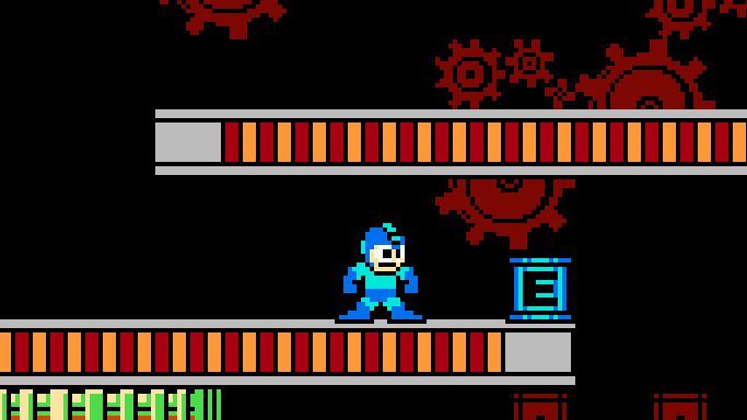 "Energietank in ""Mega Man 2"""