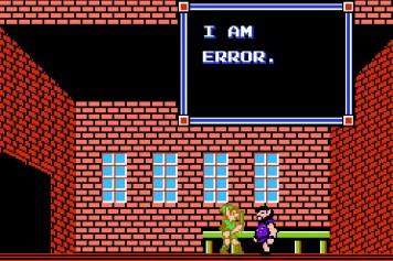 """""""I am Error"""". Dies ist alles, was der geheimnisvolle Mann in der Stadt Ruto zu sagen hat (in """"Zelda 2: The Adventure of Link"""")."""