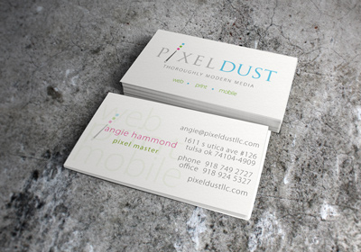Pixel Dust Business Card