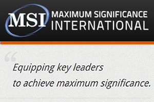 Maximum Significance International