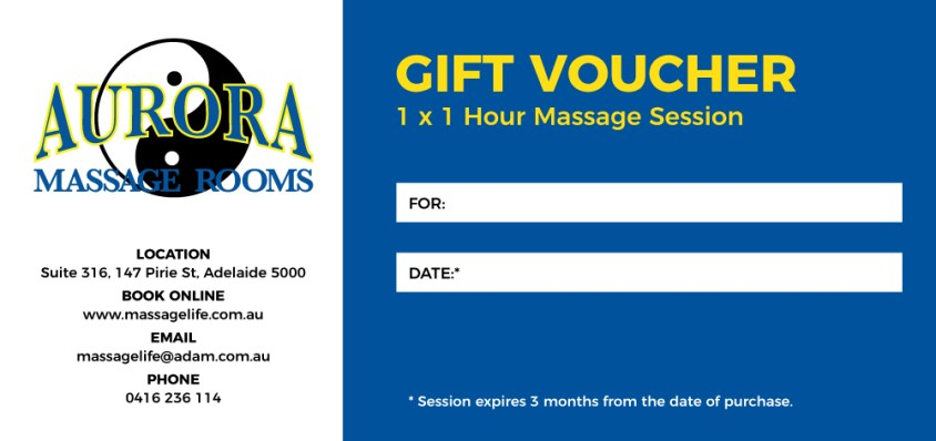MassageLifeVoucher1Session
