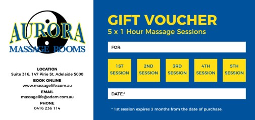 MassageLifeVoucher5Sessions