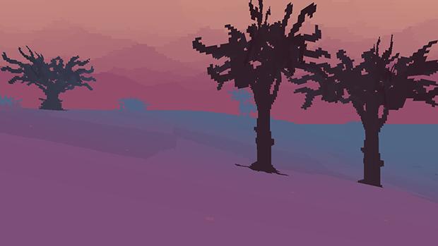 Anche l'inverno ha colori allegri sull'isola di Proteus