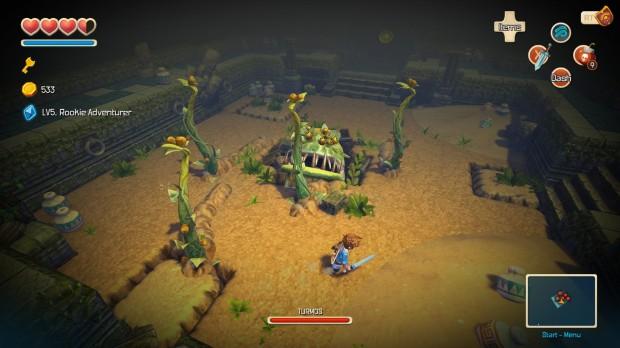 Non possono mancare i boss a fine dungeon, ovviamente, ma Oceanhorn non ne ha molti.