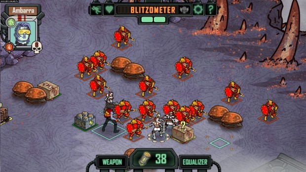battaglia contro dei mutanti