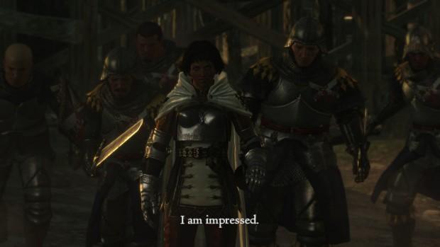Questa è la mia reazione al vedere Dragon's Dogma girare su PC.