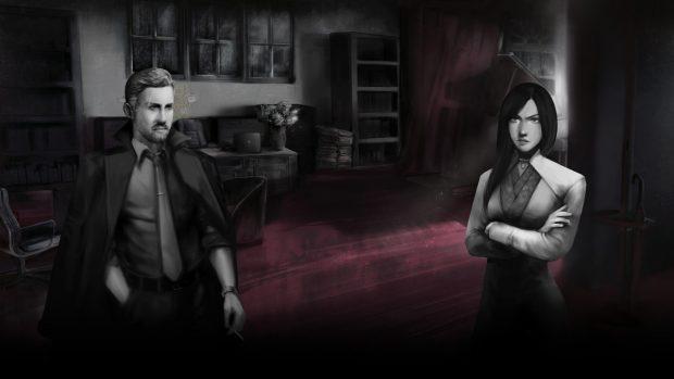 Mordred Foley e la sua assistente Hera.