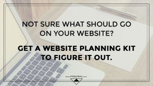 website planning kit
