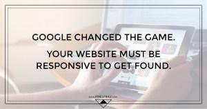google mobile responsive website