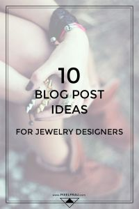 jewelry blog ideas