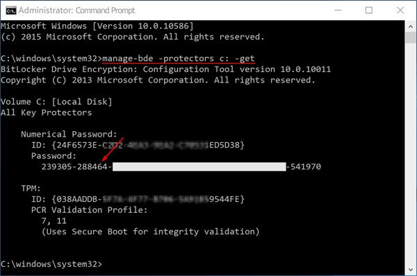 BitLocker CMD