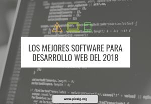 Desarrollo web 2018