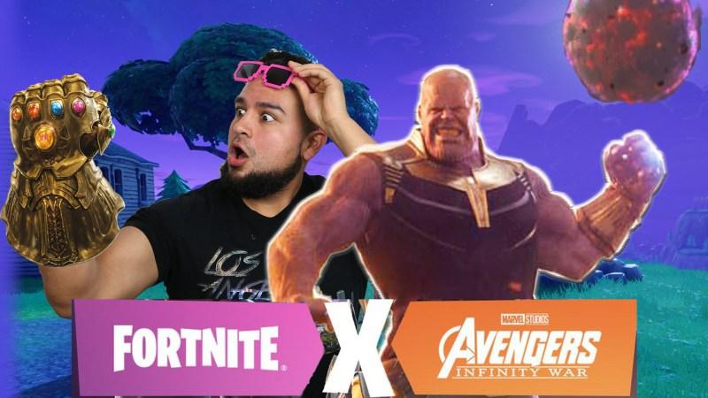 fortnite avengers thanos coming to fortnite battle royale