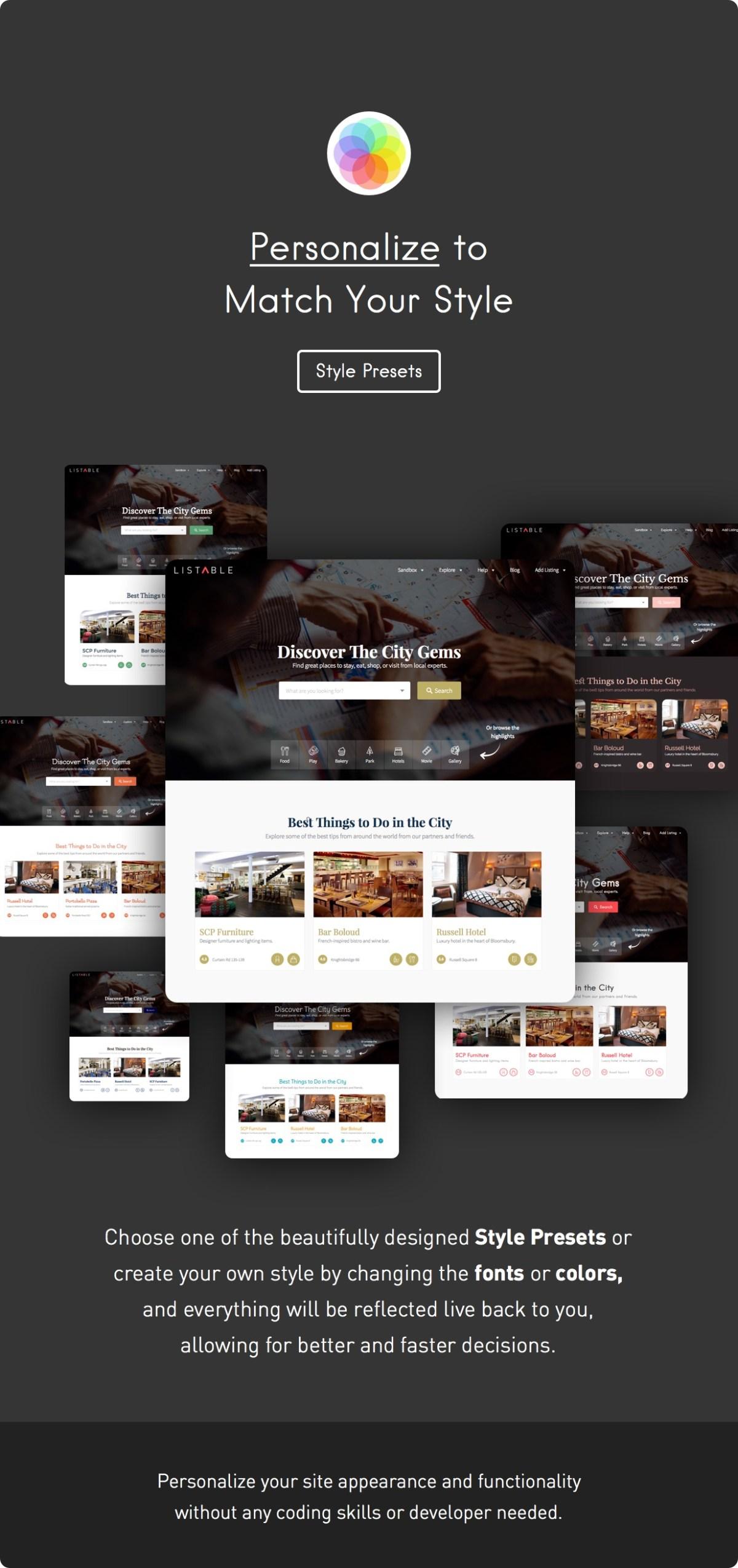 LISTABLE – A Friendly Directory WordPress Theme - 10