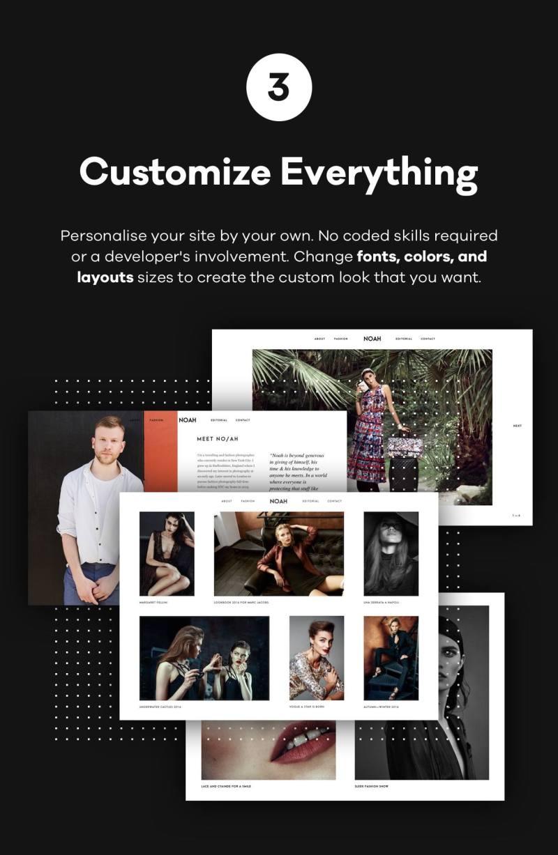 NOAH - A Witty Photography WordPress Theme - 4