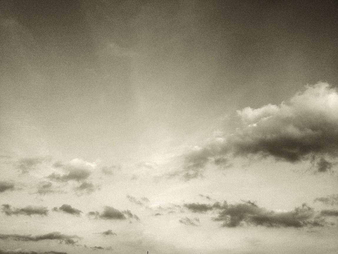 Wolken über Bad Oeynhausen