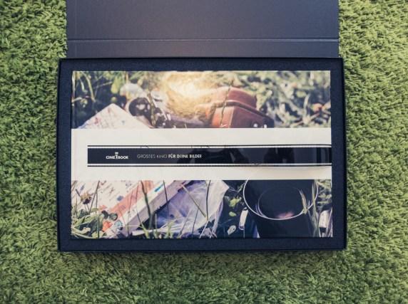 Widescreen Fotobuch von Cinebook mit Panorama-Bindung