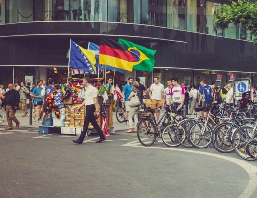 Menschen in Frankfurt