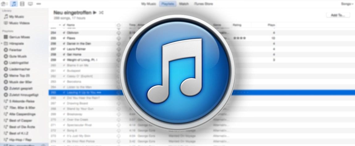 Titel der itunes mediathek automatisch mit songtexten for Spiegel mediathek